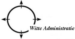Witte administratie Logo